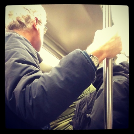 Steve on the Subway