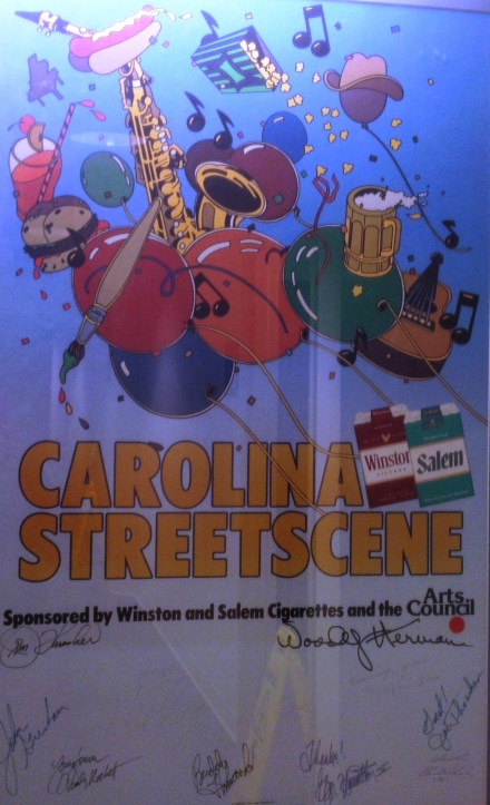 Carolina Street Scene Poster courtesy of the MIlton Rhodes Center for the Arts